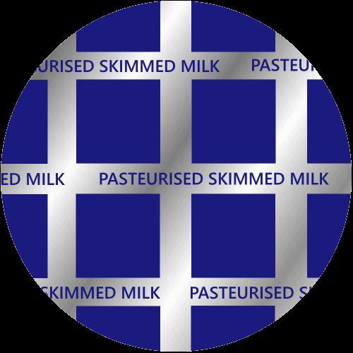 Skimmed Glass Pint Milk Top