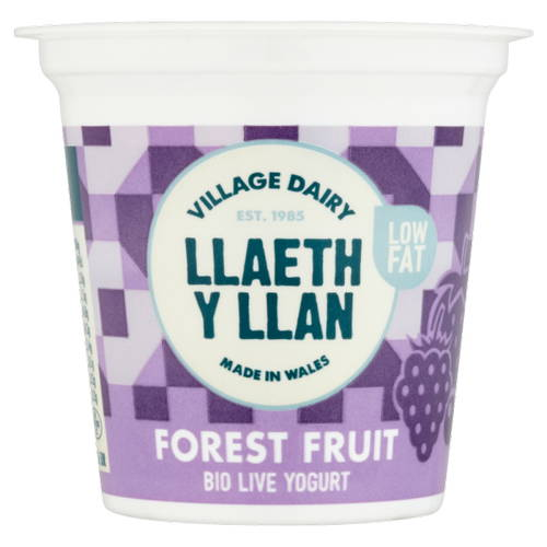 Llaeth Y Llan Fruits of the Forest Yogurt 125g
