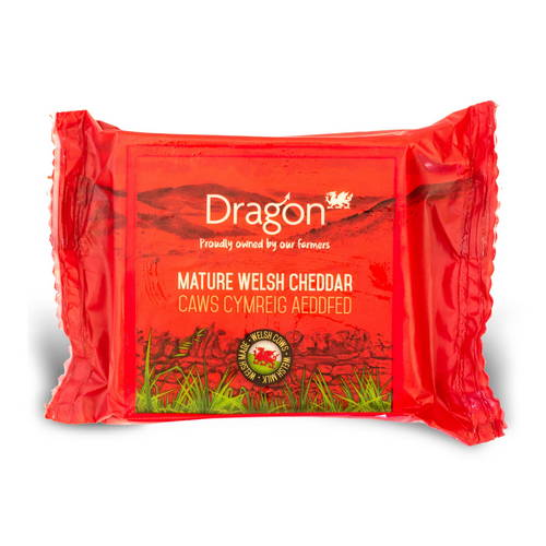 Dragon Mature White Cheddar 350g
