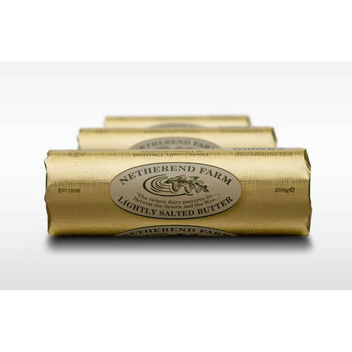 Netherend Salted Butter Roll 250g